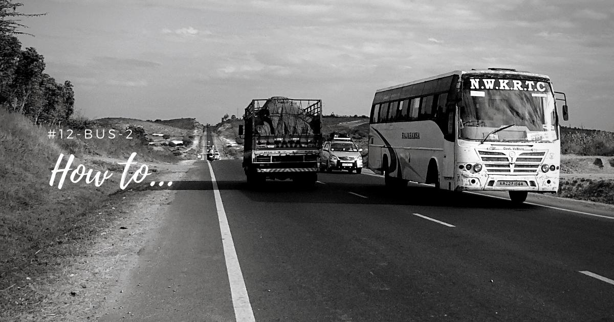 沖縄でココロ穏やかにバス通勤をするコツ。